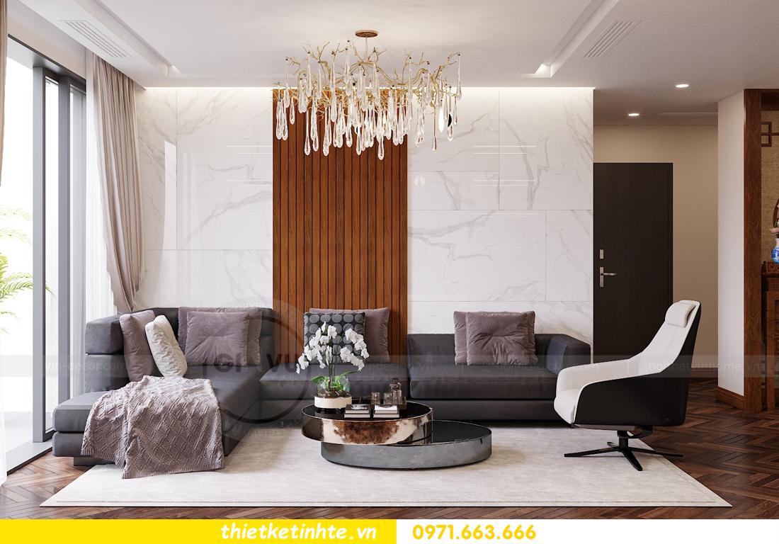thiết kế thi công nội thất chung cư Metropolis tòa M3 căn 02 View4
