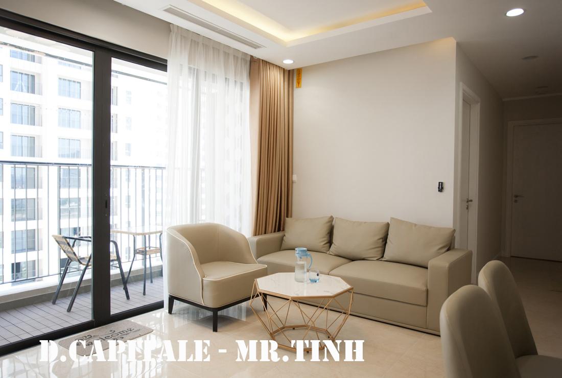 Thi công nội thất chung cư thực tế Vinhomes DCapitale căn C103 Mr.Tĩnh
