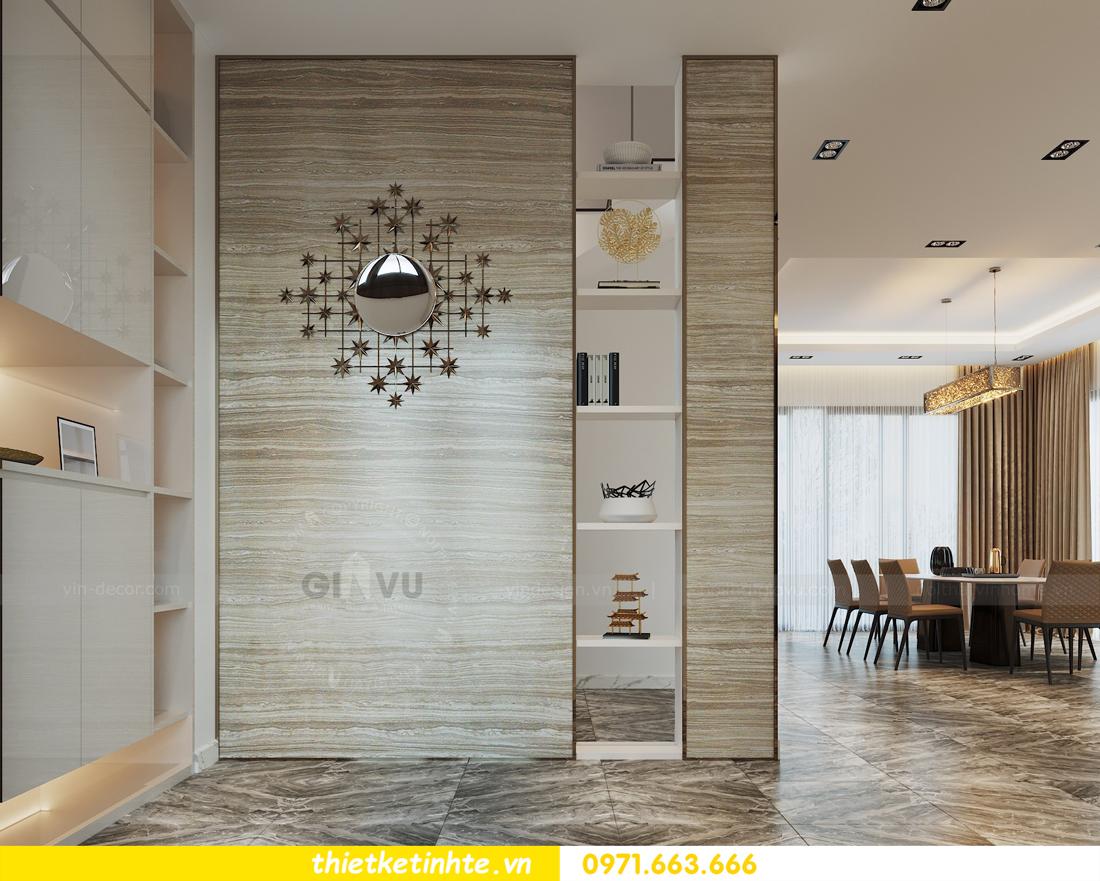 thiết kế nội thất biệt thự Starlake Tây Hồ Tây nhà chú Dũng 01