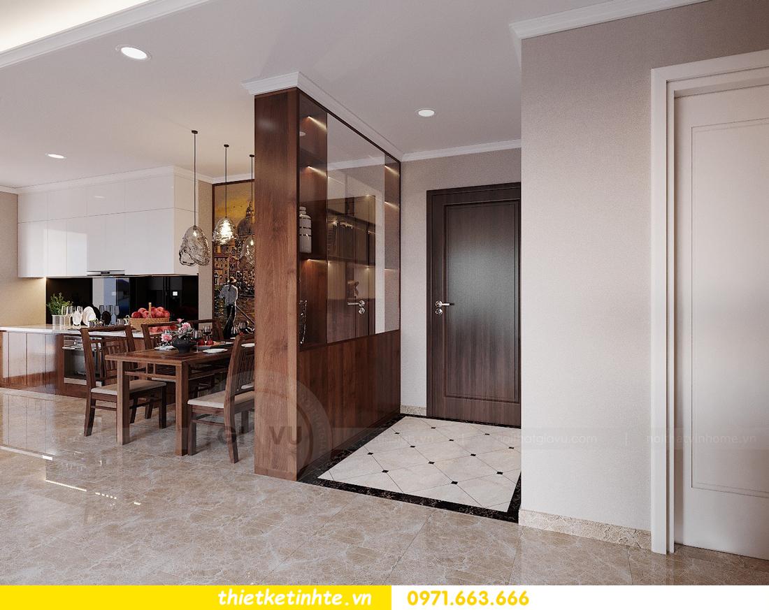 thiết kế nội thất căn hộ 3 phòng ngủ tòa C304 DCapitale chị Hạnh 1