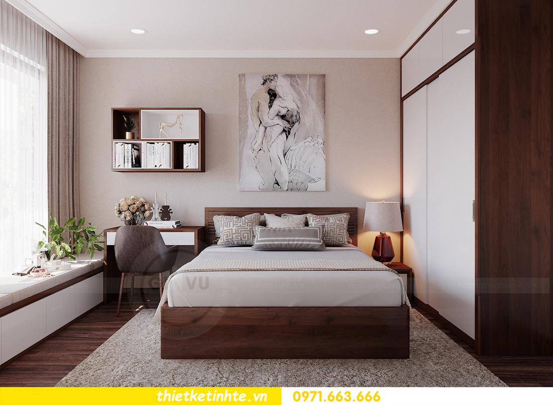 thiết kế nội thất căn hộ 3 phòng ngủ tòa C304 DCapitale chị Hạnh 10
