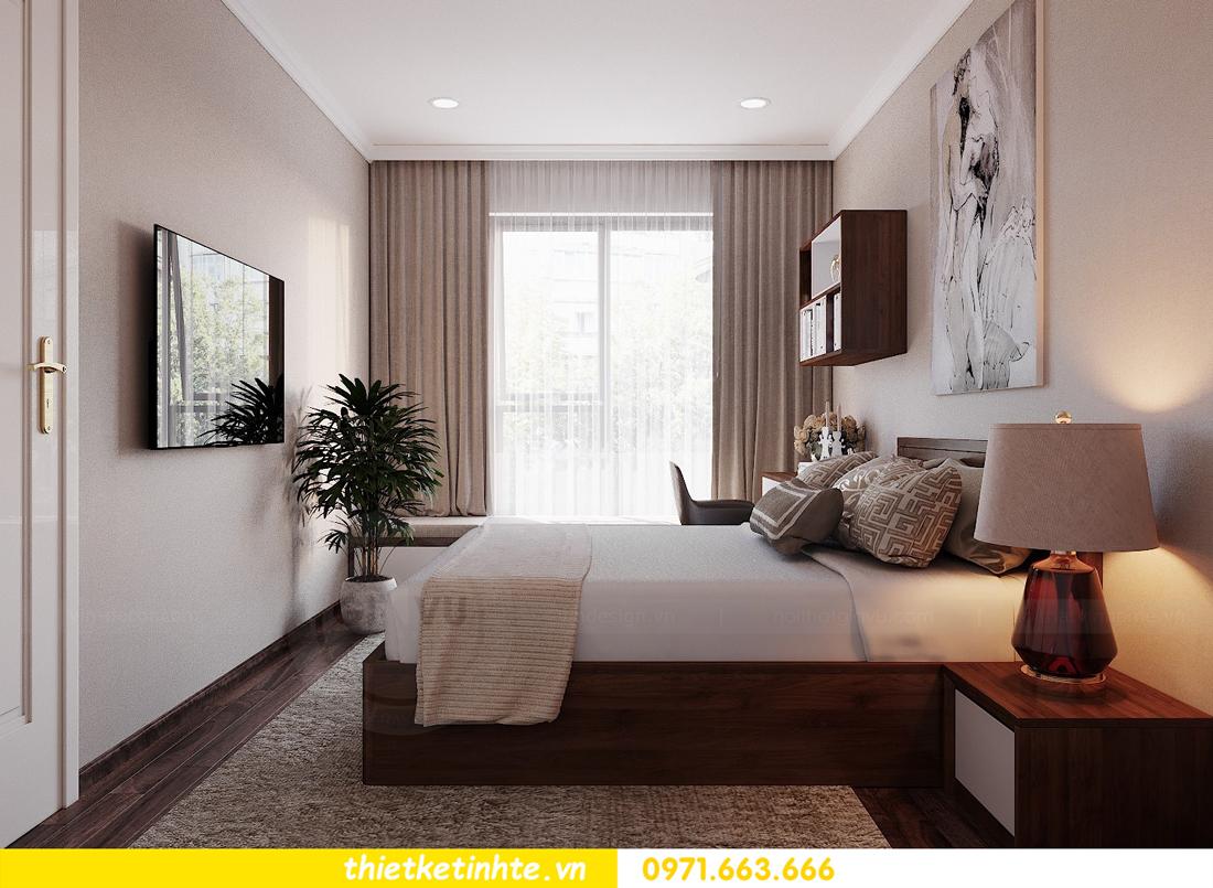 thiết kế nội thất căn hộ 3 phòng ngủ tòa C304 DCapitale chị Hạnh 11
