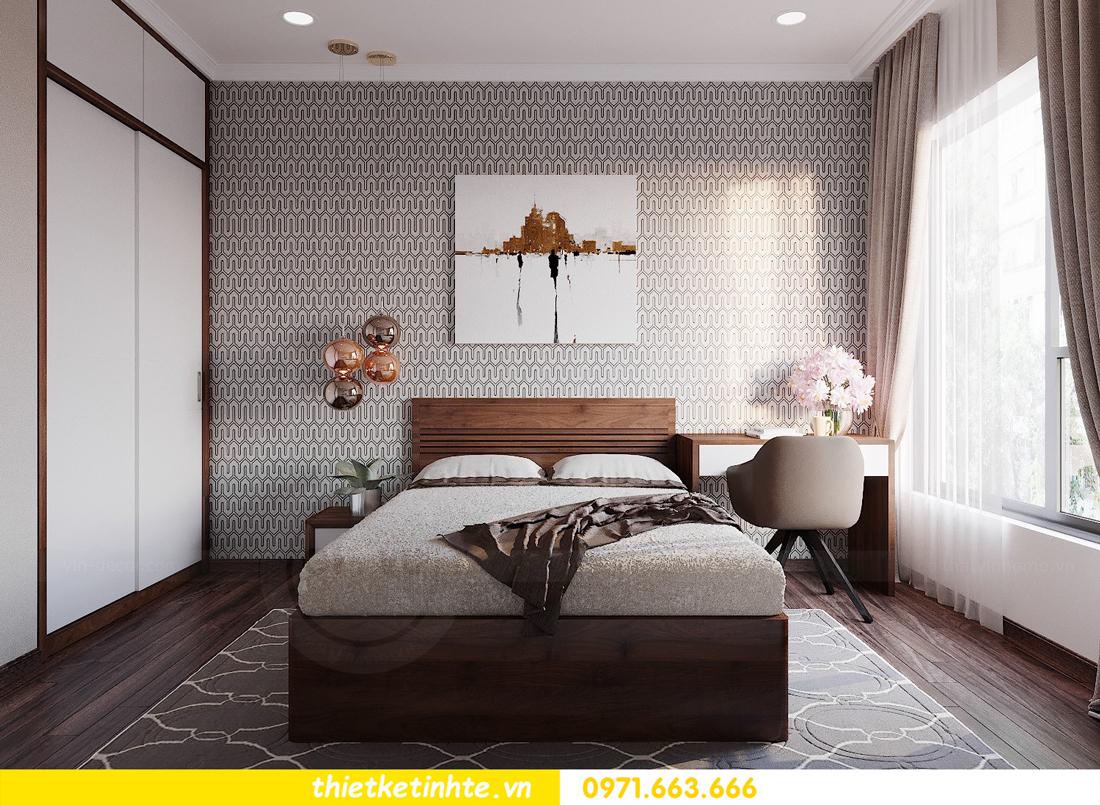 thiết kế nội thất căn hộ 3 phòng ngủ tòa C304 DCapitale chị Hạnh 12