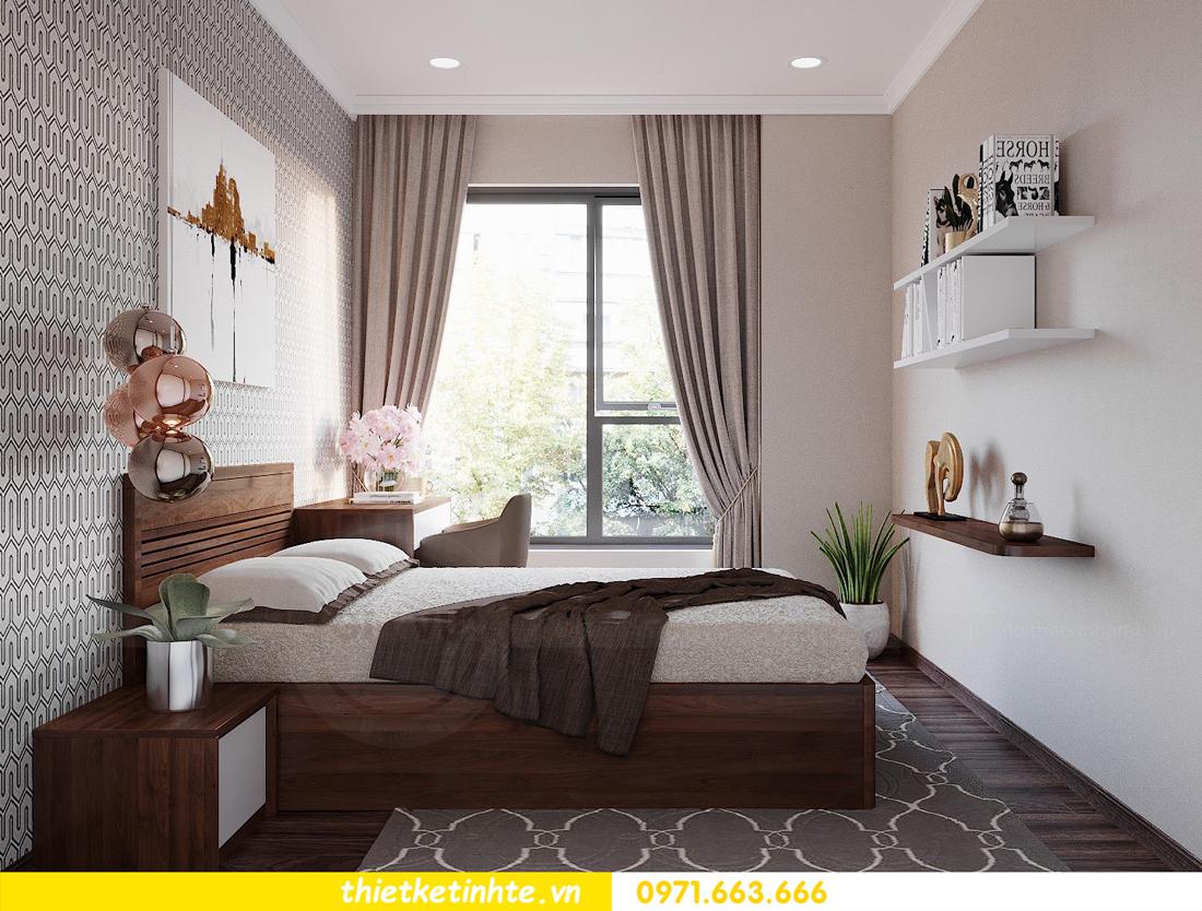 thiết kế nội thất căn hộ 3 phòng ngủ tòa C304 DCapitale chị Hạnh 13