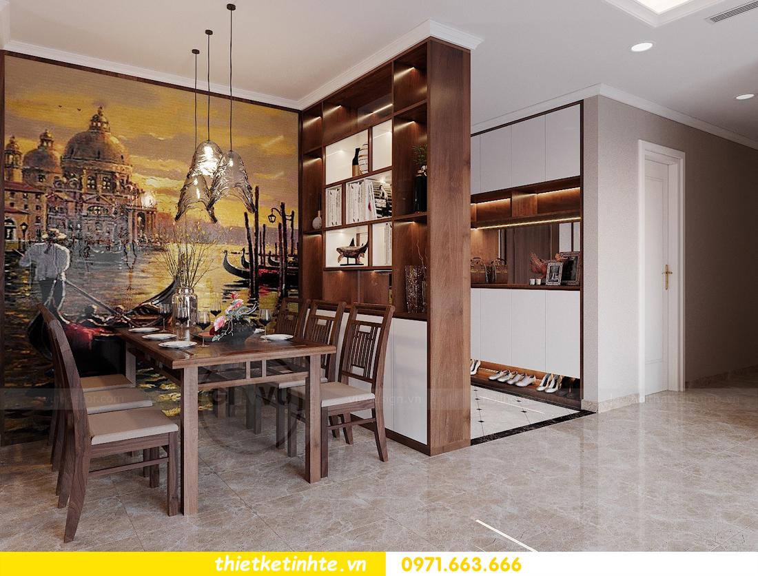 thiết kế nội thất căn hộ 3 phòng ngủ tòa C304 DCapitale chị Hạnh 2