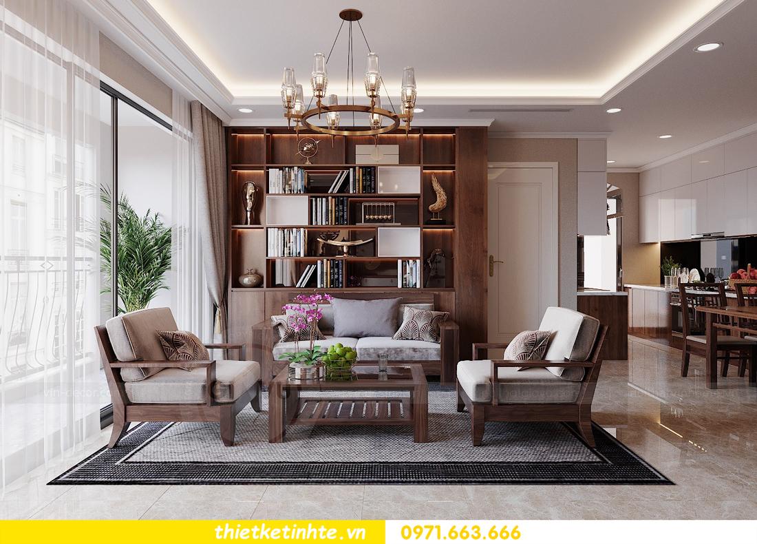 thiết kế nội thất căn hộ 3 phòng ngủ tòa C304 DCapitale chị Hạnh 4