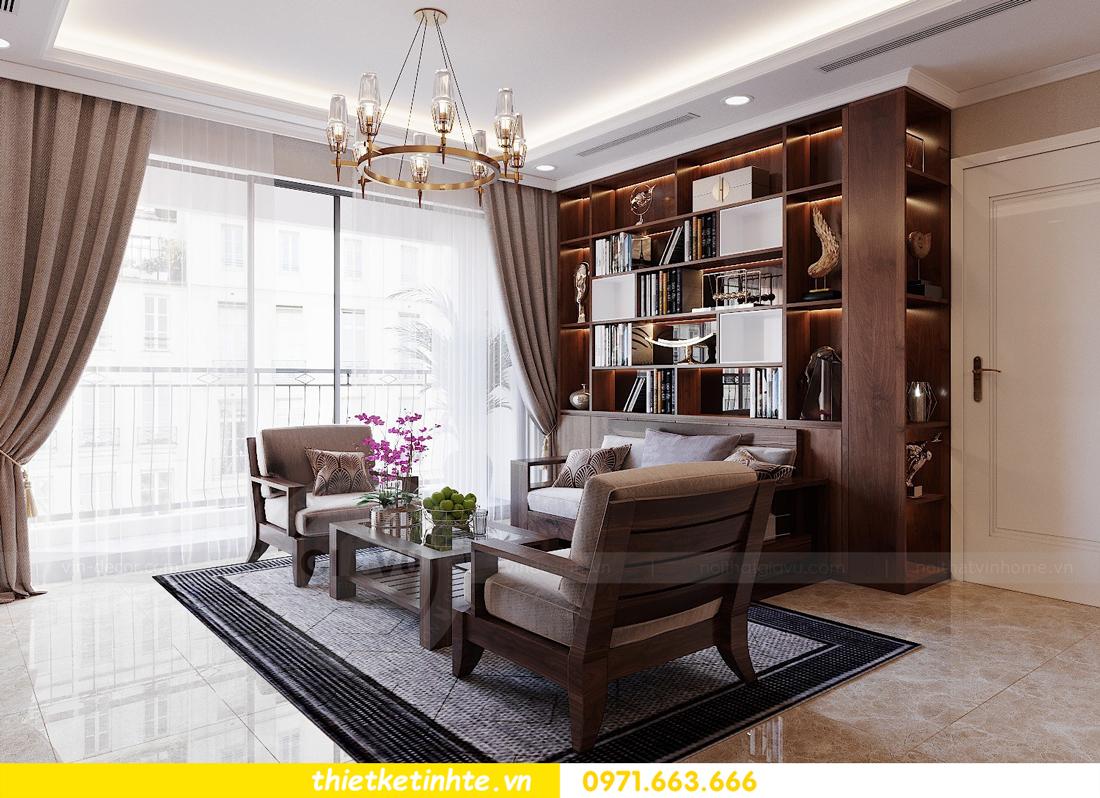 thiết kế nội thất căn hộ 3 phòng ngủ tòa C304 DCapitale chị Hạnh 5