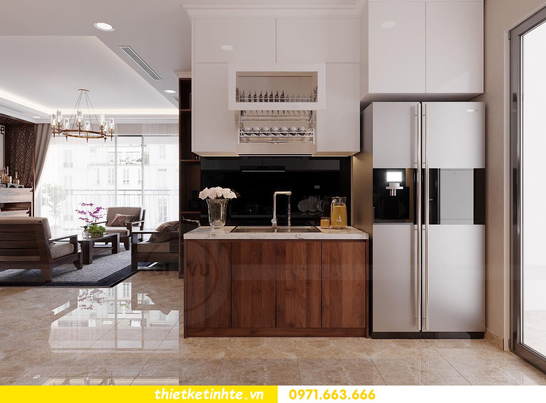 thiết kế nội thất căn hộ 3 phòng ngủ tòa C304 DCapitale chị Hạnh 7
