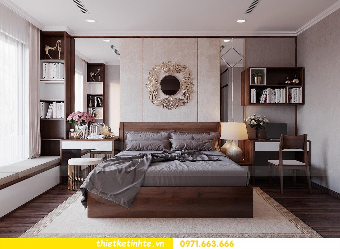 thiết kế nội thất căn hộ 3 phòng ngủ tòa C304 DCapitale chị Hạnh 8