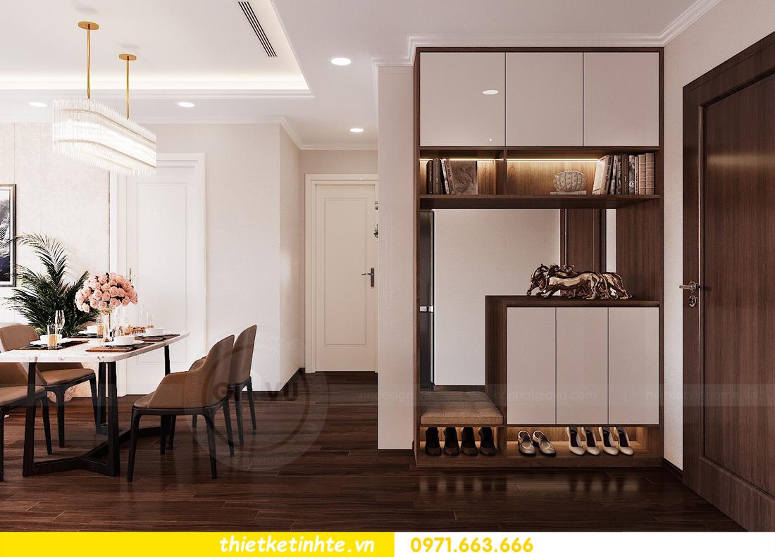 thiết kế nội thất căn hộ chung cư Green Bay G2 căn 10 1