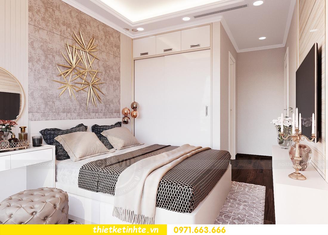 thiết kế nội thất căn hộ chung cư Green Bay G2 căn 10 10