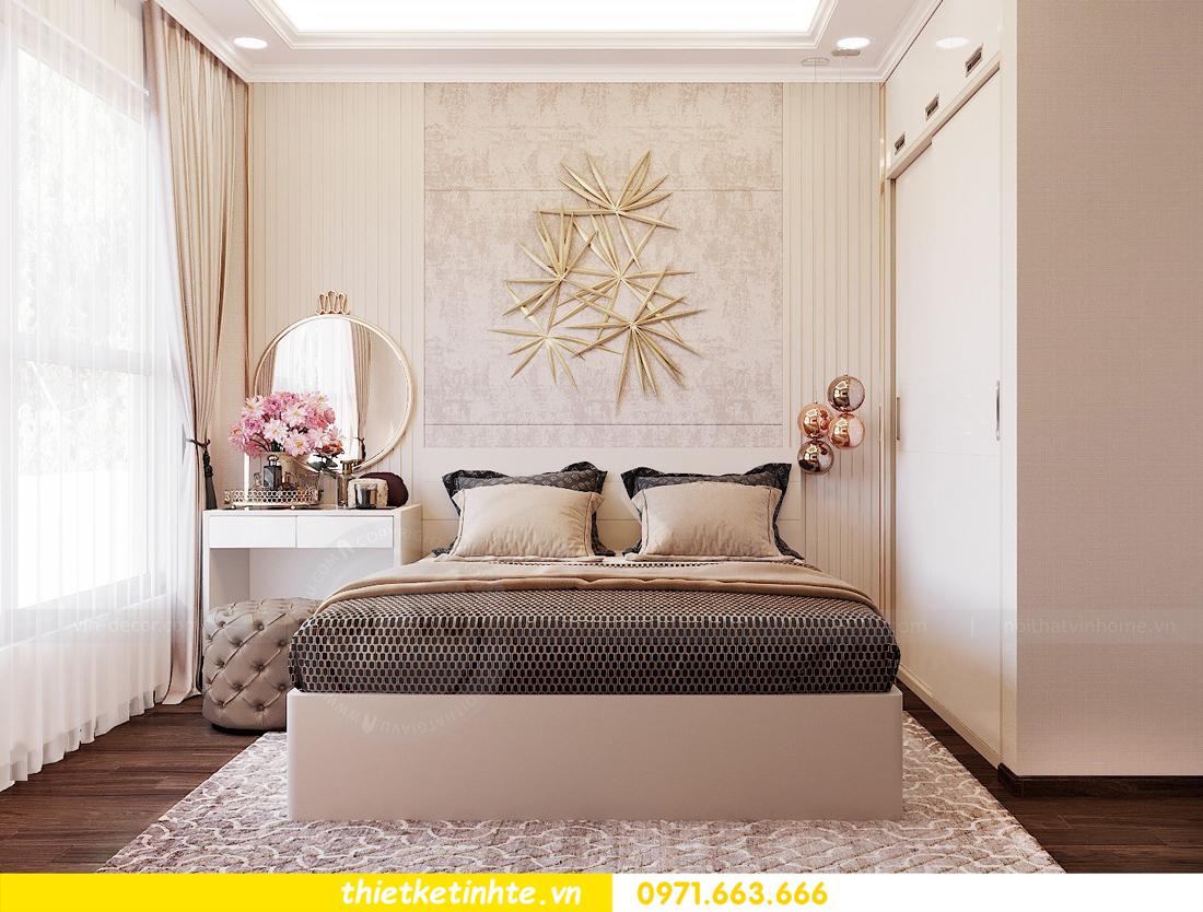 thiết kế nội thất căn hộ chung cư Green Bay G2 căn 10 11
