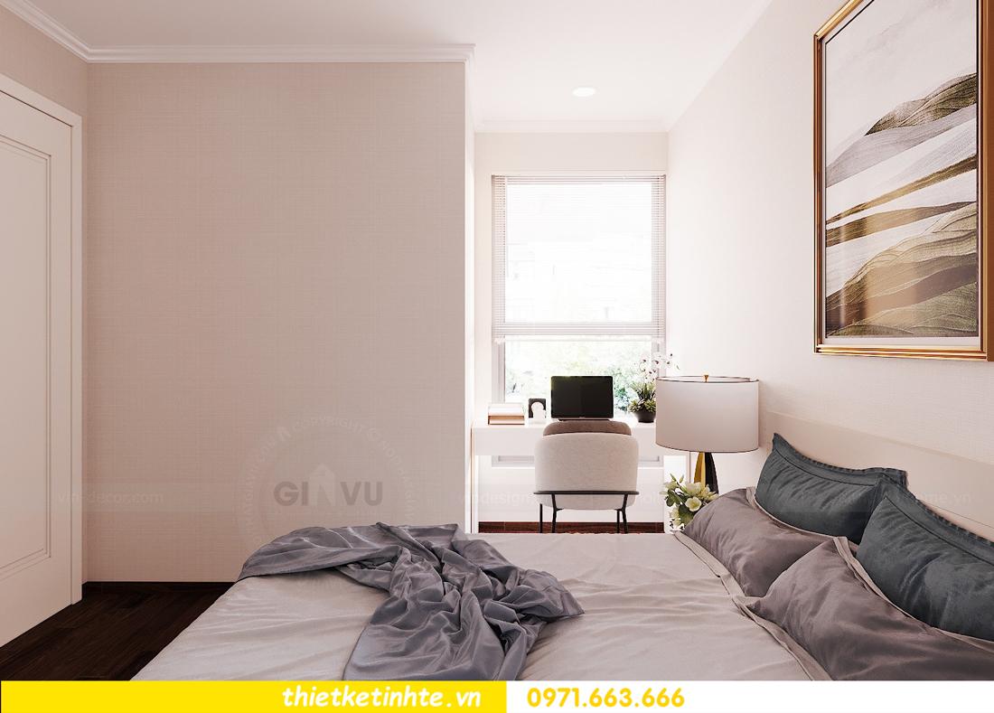 thiết kế nội thất căn hộ chung cư Green Bay G2 căn 10 14