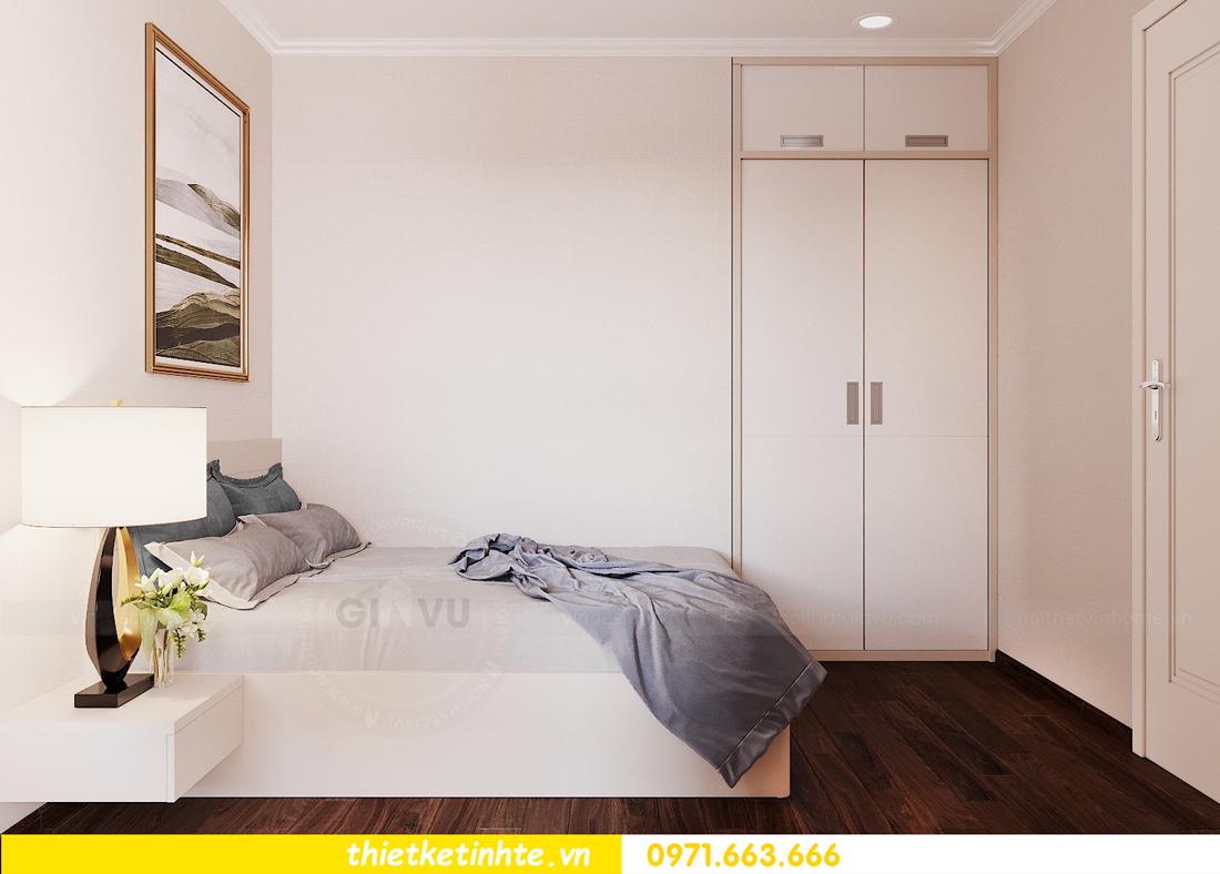 thiết kế nội thất căn hộ chung cư Green Bay G2 căn 10 15