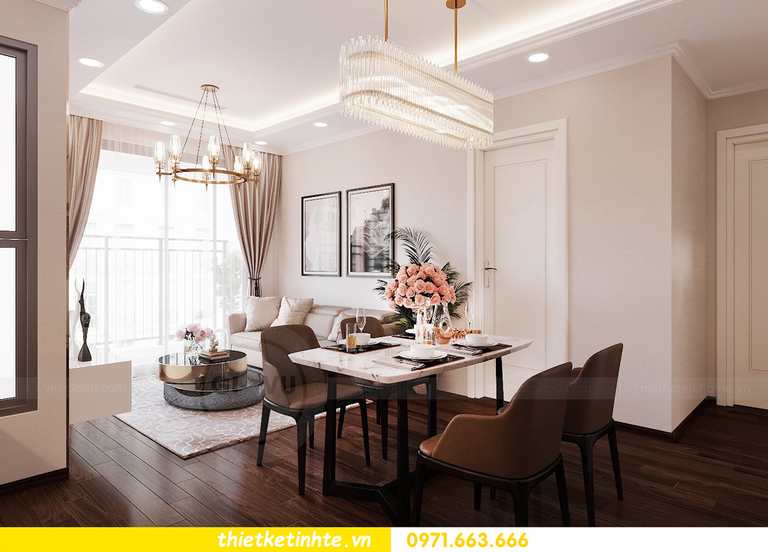 thiết kế nội thất căn hộ chung cư Green Bay G2 căn 10 2