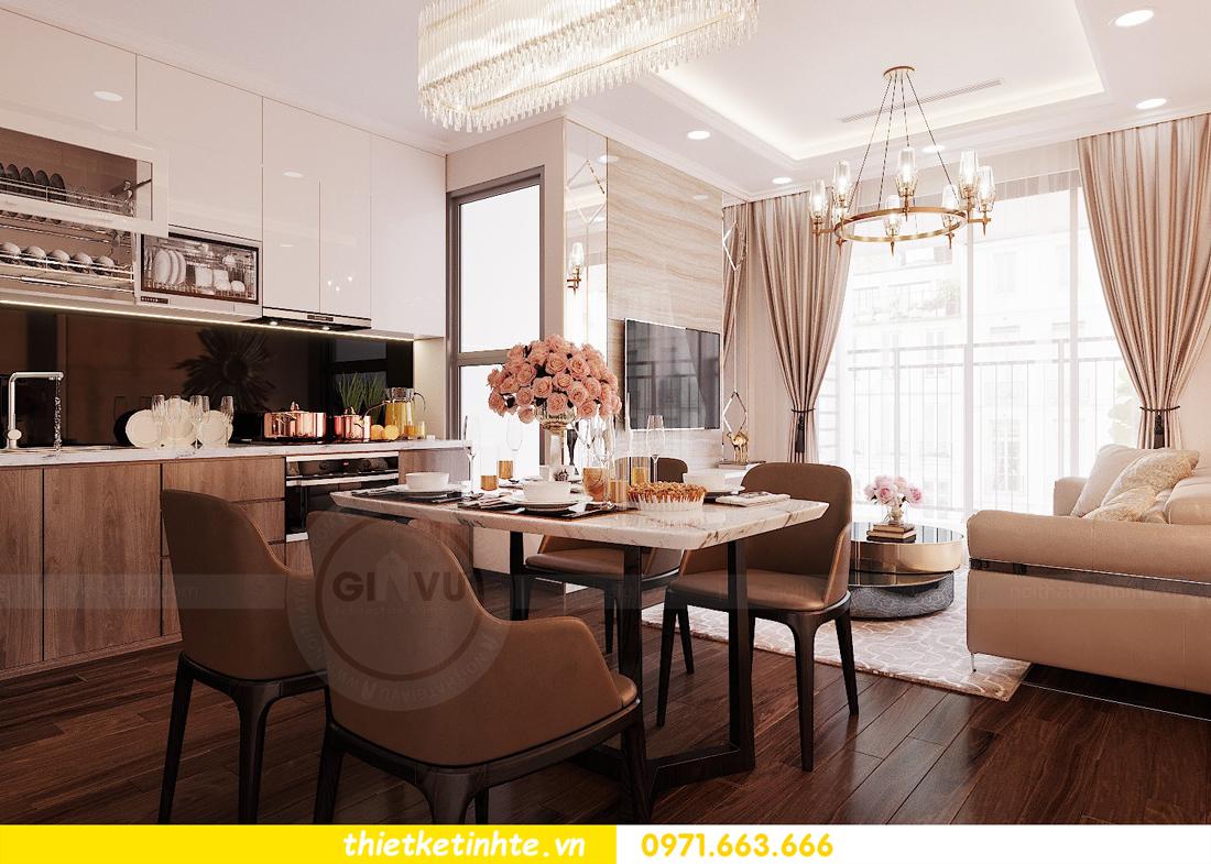 thiết kế nội thất căn hộ chung cư Green Bay G2 căn 10 3