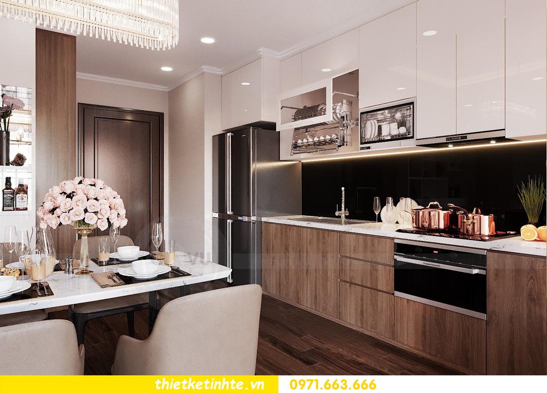 thiết kế nội thất căn hộ chung cư Green Bay G2 căn 10 4