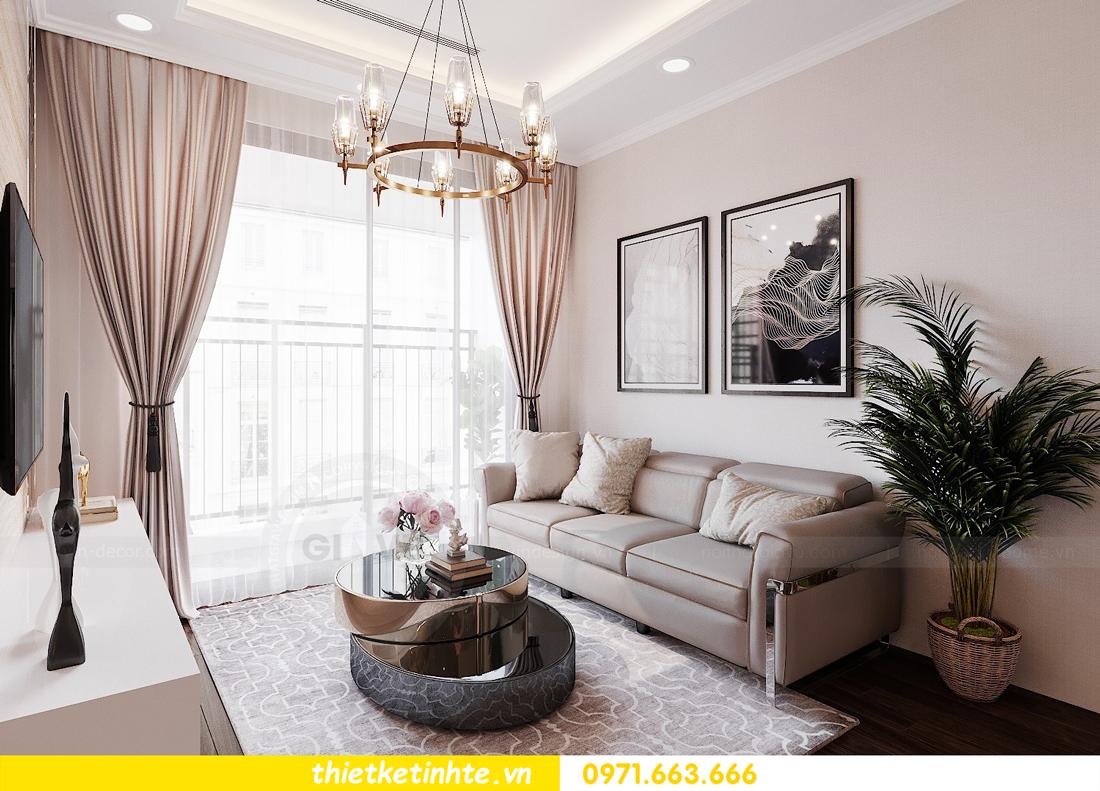 thiết kế nội thất căn hộ chung cư Green Bay G2 căn 10 5