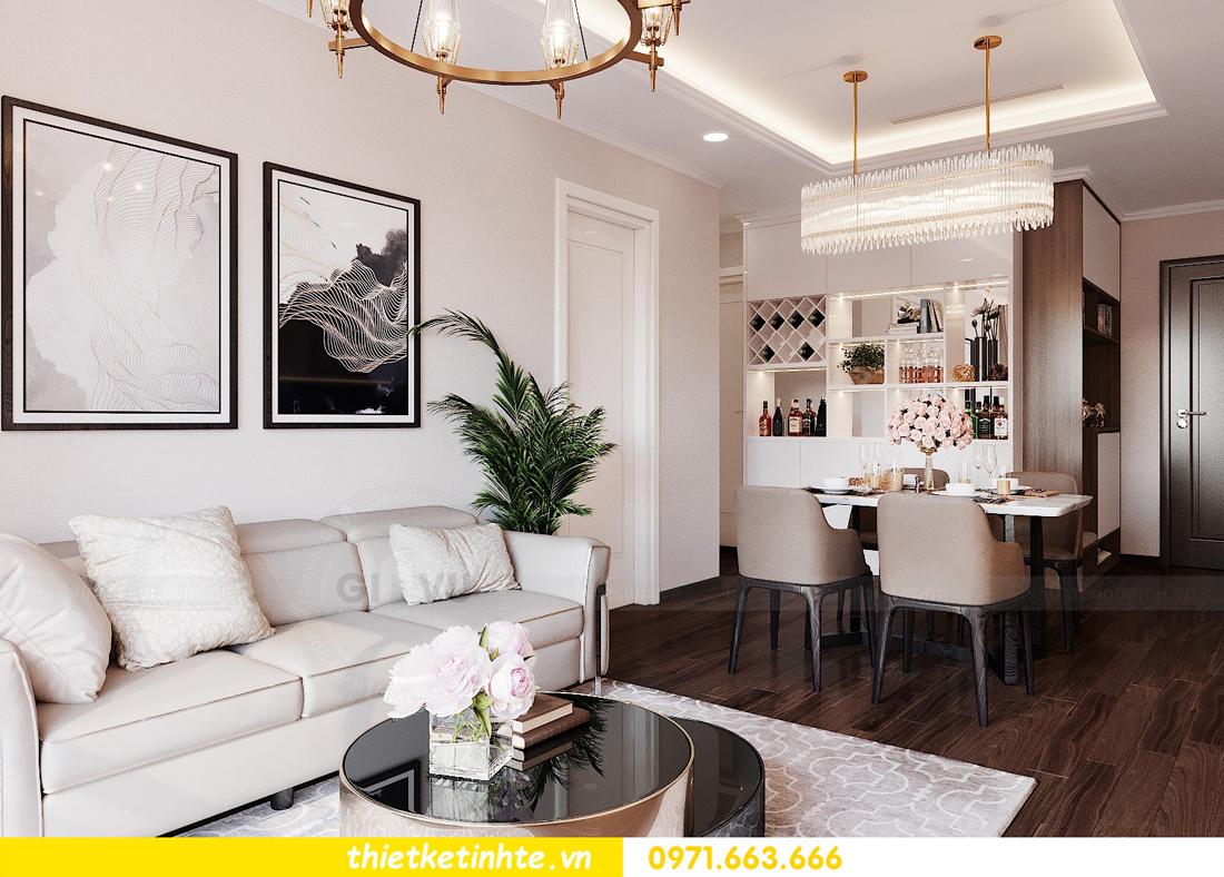 thiết kế nội thất căn hộ chung cư Green Bay G2 căn 10 6