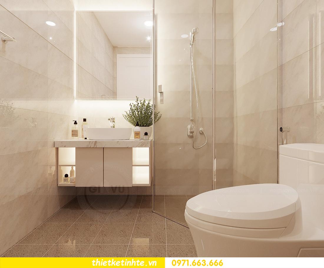 thiết kế nội thất căn hộ chung cư Green Bay G2 căn 10 8