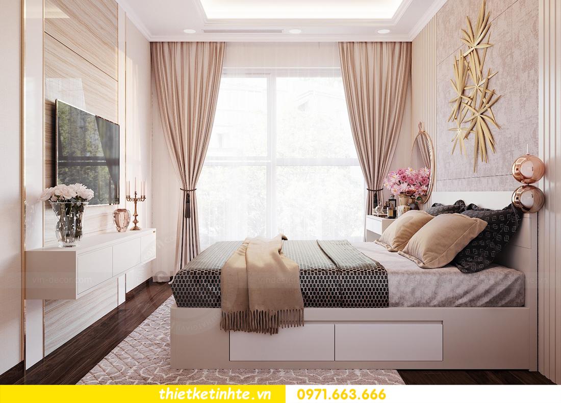 thiết kế nội thất căn hộ chung cư Green Bay G2 căn 10 9