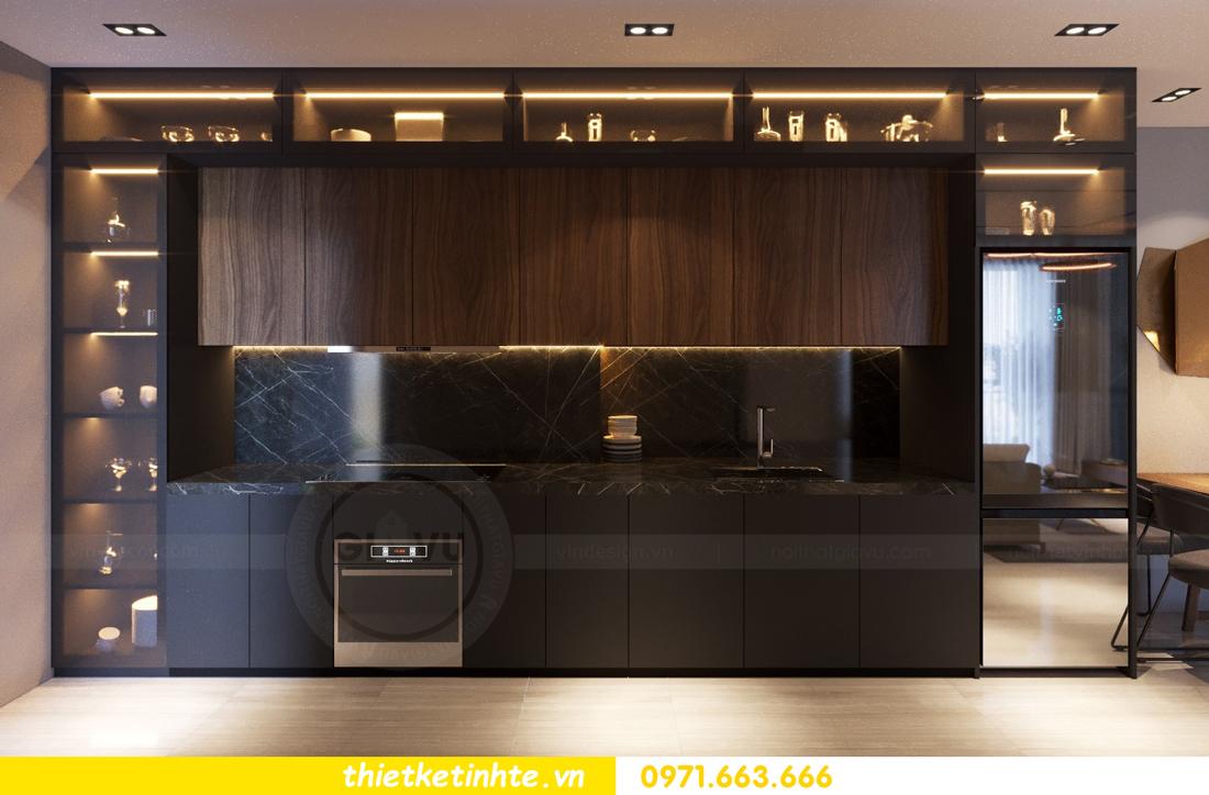thiết kế nội thất cao cấp tại Vinhomes D Capitale tòa C307 chị Thắm 04
