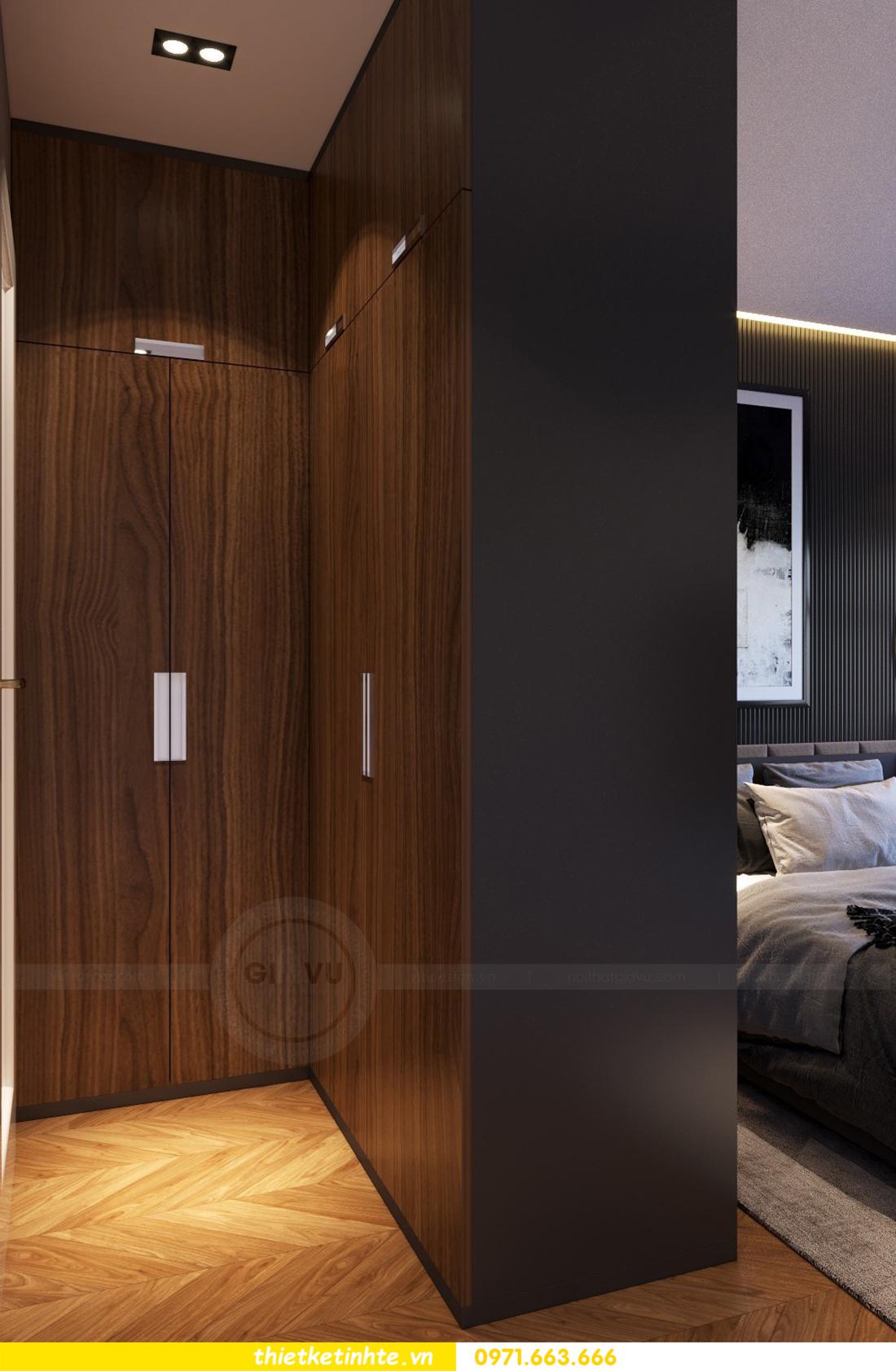 thiết kế nội thất cao cấp tại Vinhomes D Capitale tòa C307 chị Thắm 05
