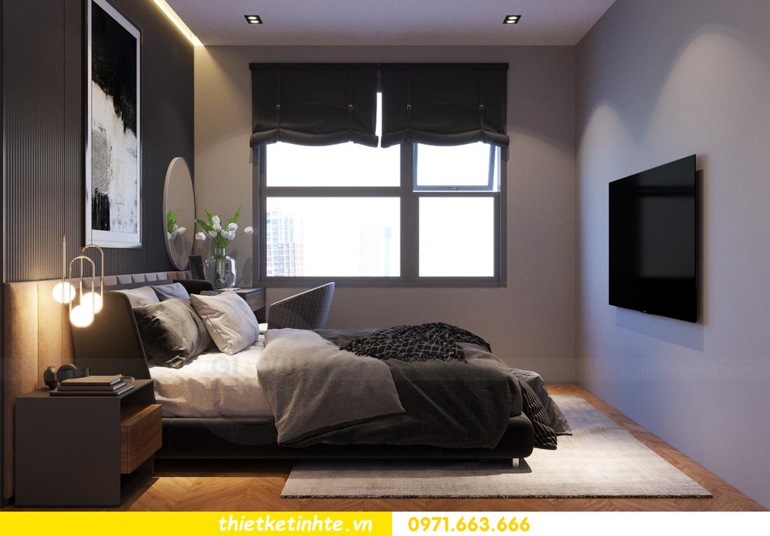 thiết kế nội thất cao cấp tại Vinhomes D Capitale tòa C307 chị Thắm 07