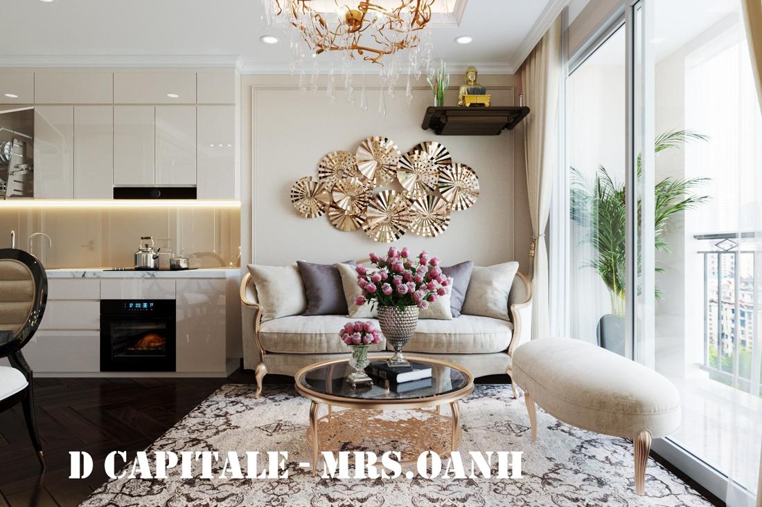 Thiết kế nội thất chung cư 1 phòng ngủ đẹp hiện đại và đầy tinh tế