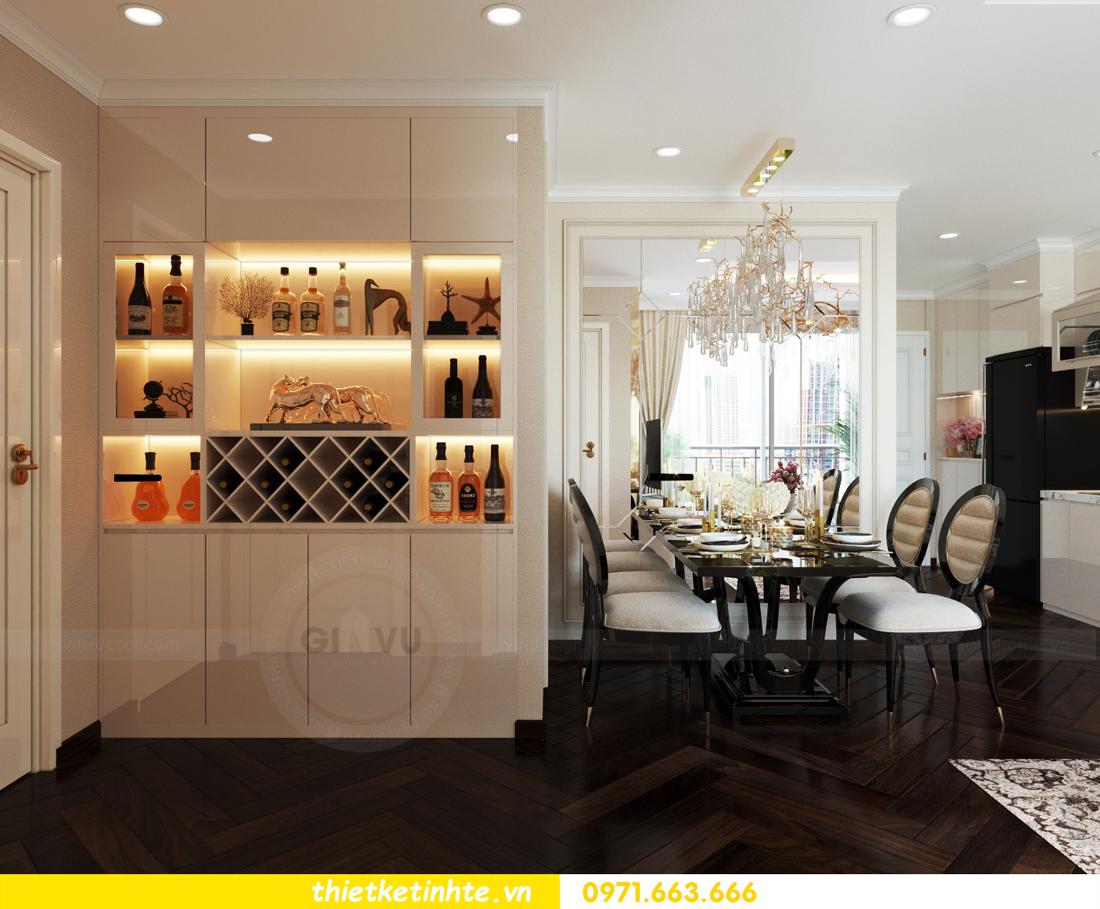 thiết kế nội thất chung cư 1 phòng ngủ đẹp hiện đại và đầy tinh tế 01