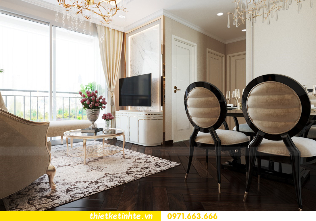 thiết kế nội thất chung cư 1 phòng ngủ đẹp hiện đại và đầy tinh tế 03