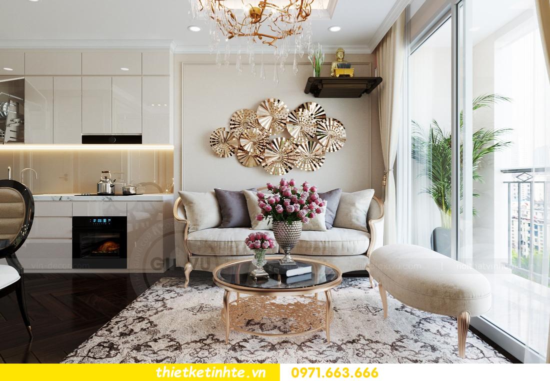 thiết kế nội thất chung cư 1 phòng ngủ đẹp hiện đại và đầy tinh tế 04