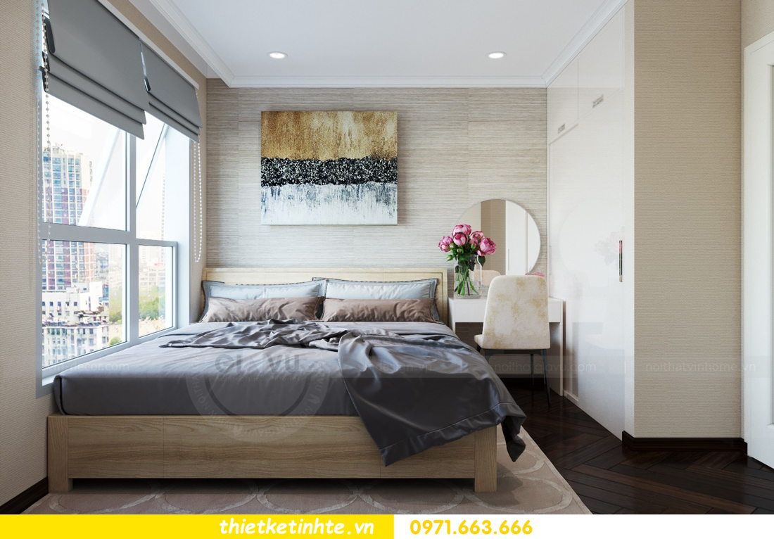 thiết kế nội thất chung cư 1 phòng ngủ đẹp hiện đại và đầy tinh tế 07