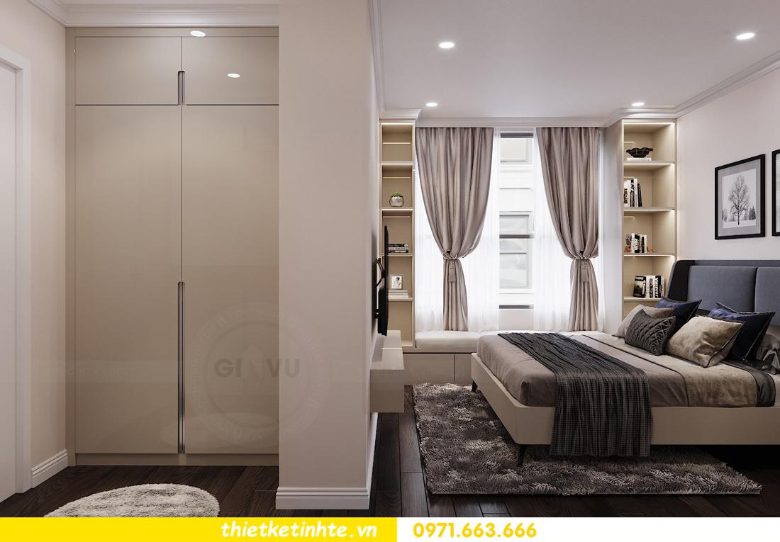 thiết kế nội thất chung cư 120m2 tòa C3 căn 04 Vinhomes D Capitale 10