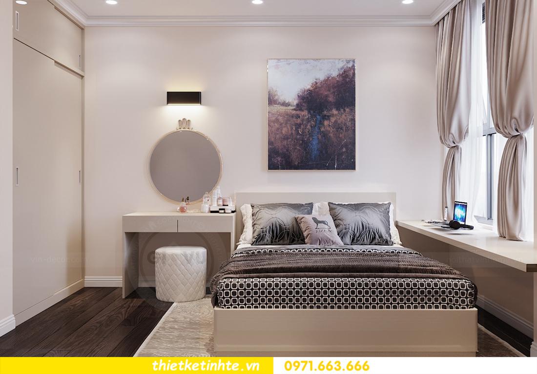 thiết kế nội thất chung cư 120m2 tòa C3 căn 04 Vinhomes D Capitale 13