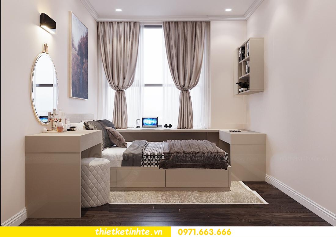 thiết kế nội thất chung cư 120m2 tòa C3 căn 04 Vinhomes D Capitale 14