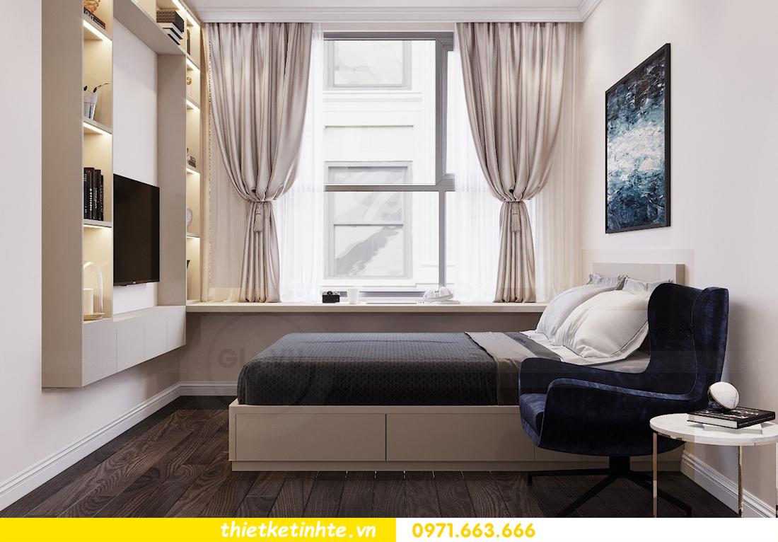 thiết kế nội thất chung cư 120m2 tòa C3 căn 04 Vinhomes D Capitale 15