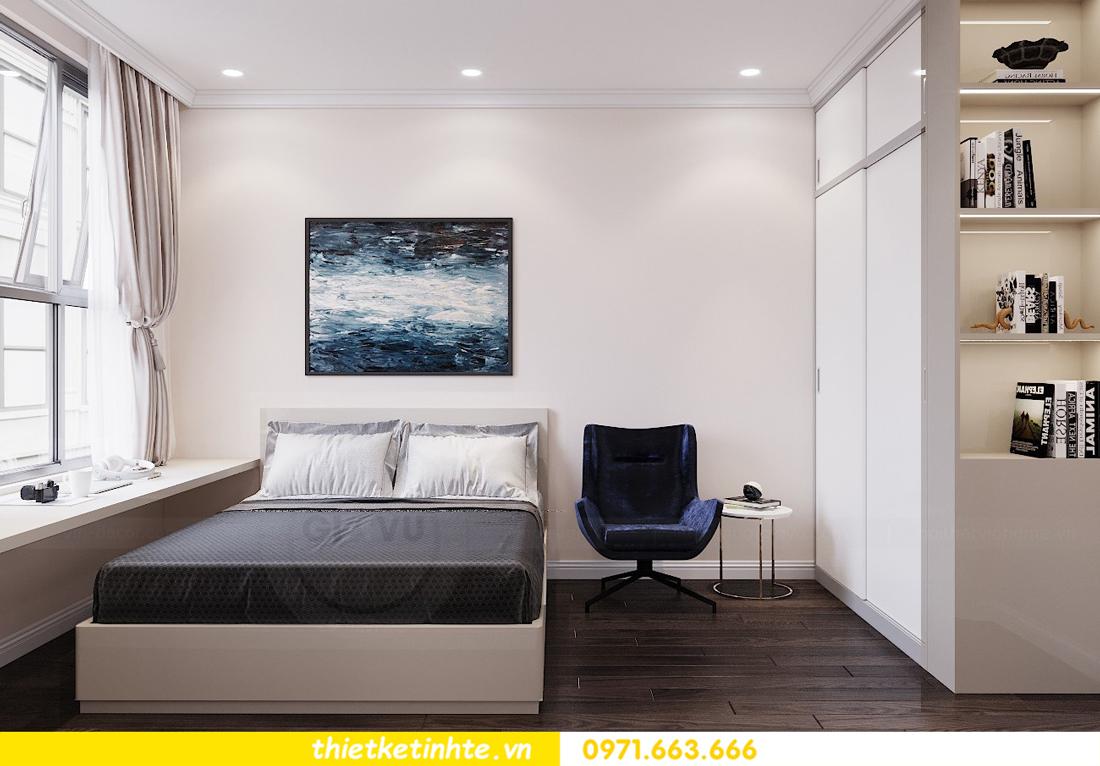 thiết kế nội thất chung cư 120m2 tòa C3 căn 04 Vinhomes D Capitale 16