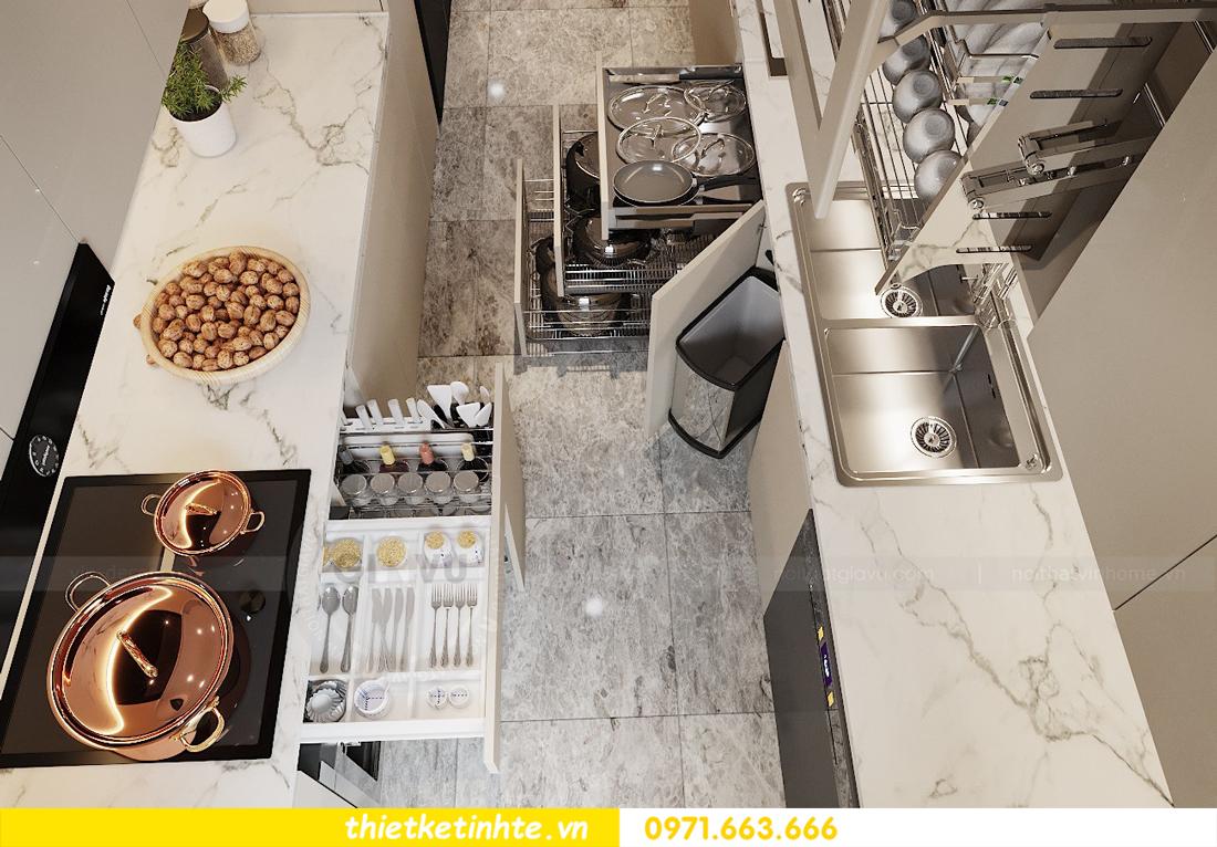 thiết kế nội thất chung cư 120m2 tòa C3 căn 04 Vinhomes D Capitale 6