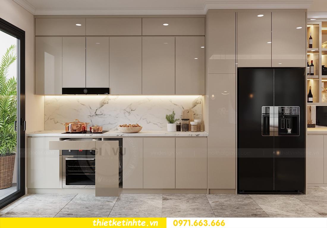 thiết kế nội thất chung cư 120m2 tòa C3 căn 04 Vinhomes D Capitale 7