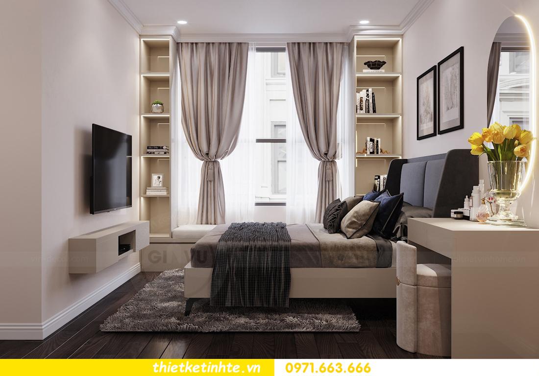 thiết kế nội thất chung cư 120m2 tòa C3 căn 04 Vinhomes D Capitale 9