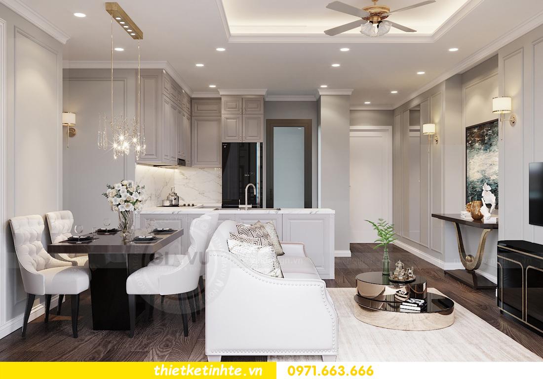 thiết kế nội thất chung cư 3 phòng ngủ căn C110 DCapitale 04