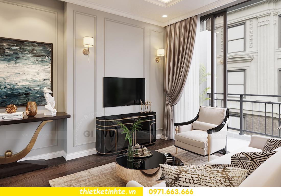 thiết kế nội thất chung cư 3 phòng ngủ căn C110 DCapitale 05