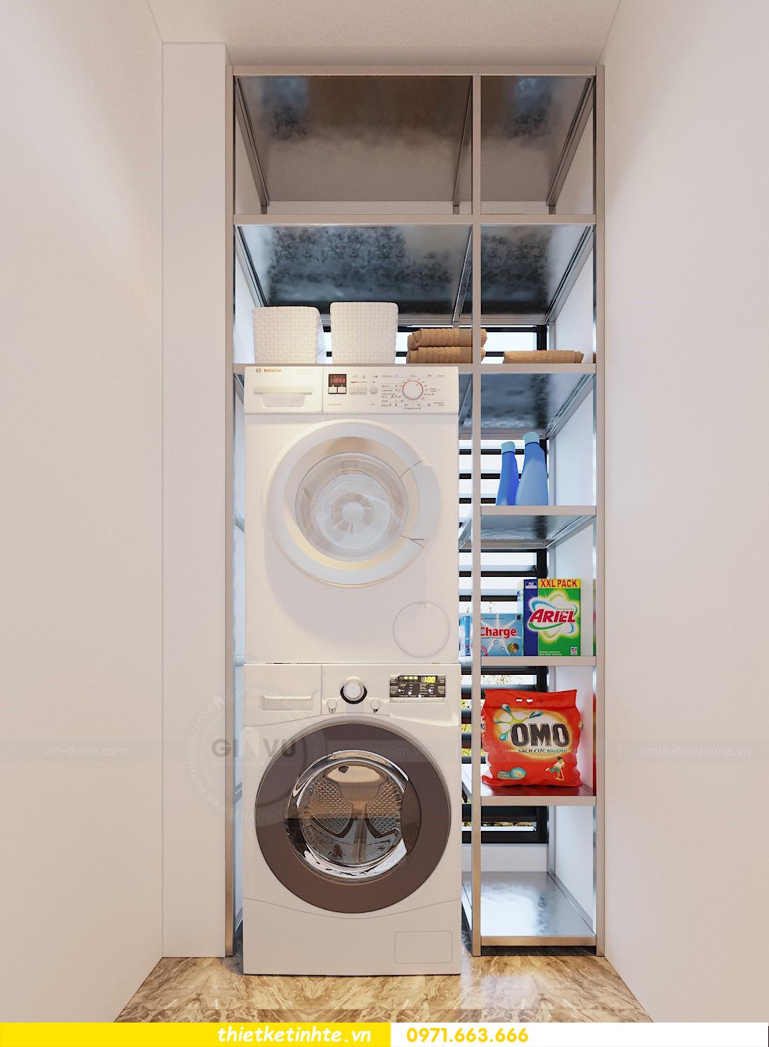 thiết kế nội thất chung cư 70m2 tại Vinhomes Metropolis 04