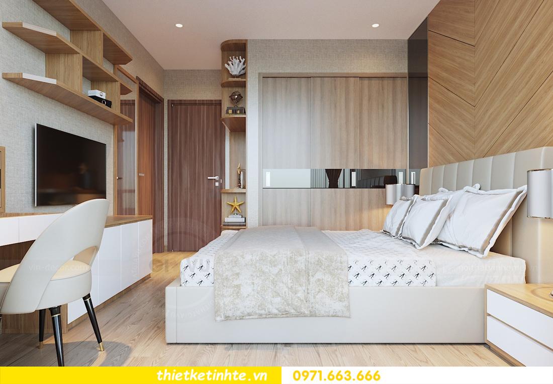 thiết kế nội thất chung cư 70m2 tại Vinhomes Metropolis 06