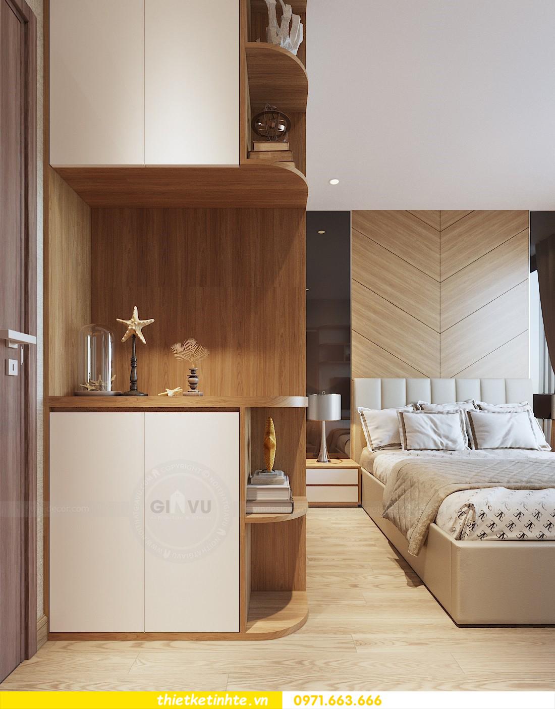thiết kế nội thất chung cư 70m2 tại Vinhomes Metropolis 07