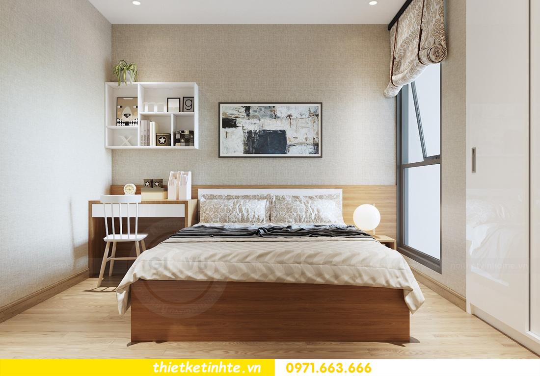 thiết kế nội thất chung cư 70m2 tại Vinhomes Metropolis 08