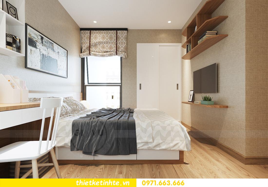 thiết kế nội thất chung cư 70m2 tại Vinhomes Metropolis 09