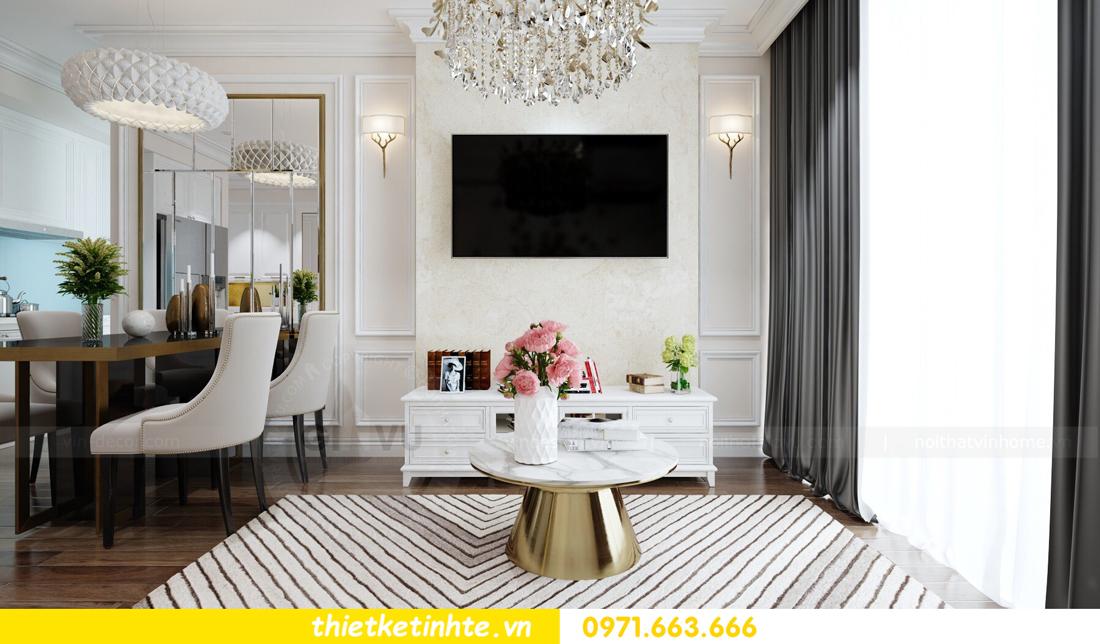 thiết kế nội thất chung cư cao cấp D Capitale tòa C1-02 nhà chị Hiên 03