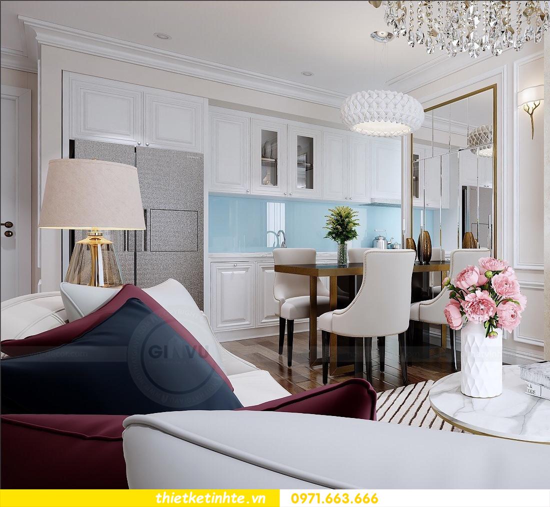 thiết kế nội thất chung cư cao cấp D Capitale tòa C1-02 nhà chị Hiên 04